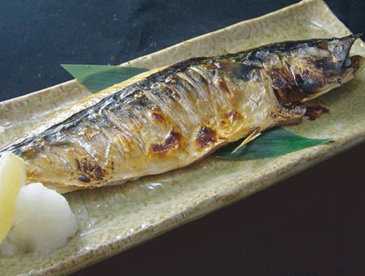 北海道産鹽燒鯖魚