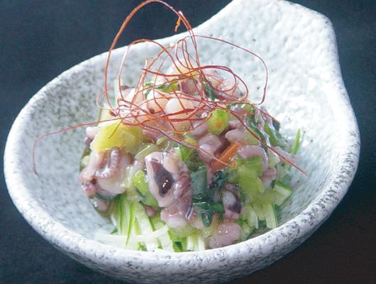 生山葵章魚
