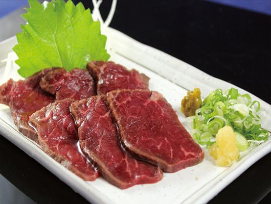 柚子生牛肉